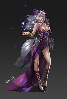 Fantasy Witch, Anime Fantasy, Medieval Fantasy, Fantasy Girl, Female Character Concept, Fantasy Character Design, Character Inspiration, Character Art, Fantasy Heroes