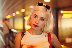 The best blonde. Vogue, Barcelona, Street Style, Hair, Instagram, Fashion, Photo Galleries, Musica, Style