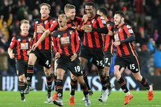 @Bournemouth 'the cherries' team #9ine
