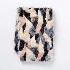 fox fur patchwork qu