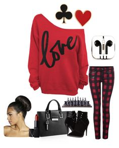 """""""Love games"""" by therealtortoknow on Polyvore featuring Dex, Calvin Klein, C Label, Boohoo, NARS Cosmetics, Alison Lou, PhunkeeTree and Flamant"""