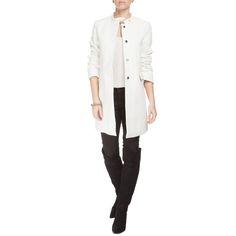 LE LIS BLANC DEUX - Casaco Le Lis Blanc Deux Flavia - off white - OQVestir