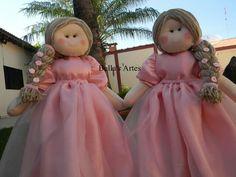 Bonecas russa princesa , para decoração da mesa .