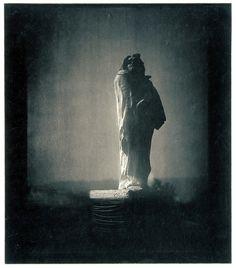 Edward Steichen, Auguste Rodin's sculpture of Balzac, 1908