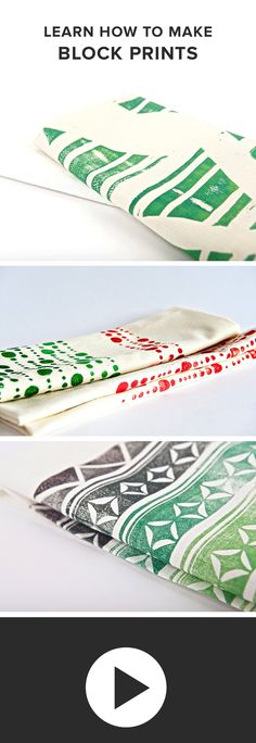DIY Block Printing Kit + Tutorial - Darby Smart