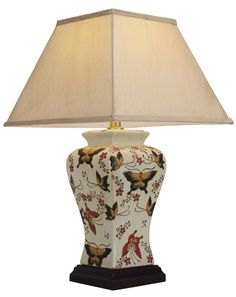 Porcelain Oriental Table Lamp - Foter