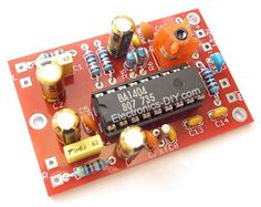 Arduino RF link using Transmitter / Receiver modules Electronic Kits, Electronic Circuit Projects, Electronic Schematics, Diy Electronics, Electronics Projects, Automatic Battery Charger, Audiophile Headphones, Function Generator, Diy Amplifier