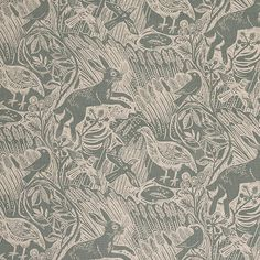 Mark Hearld's Harvest Hare fabric I want it!