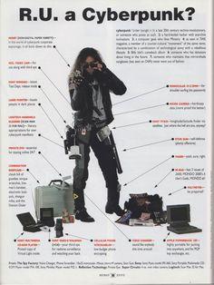 Le cyberpunk en 1990 !