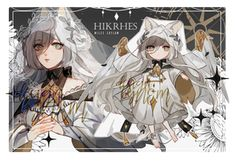 [closed] Hikrhes : auction [ab:added] by nemcrsd on DeviantArt Kawaii Drawings, Love Drawings, Character Concept, Character Art, Christmas Drawing, Kawaii Chibi, Pretty Art, Character Design Inspiration, Character Illustration