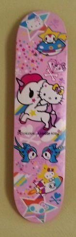Tokidoki Hello Kitty RARE Skateboard Deck Mounting Hardware   eBay