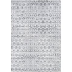 Couristan Marina Grisaille Area Rug (3'11 x 5'6) (pearl-champagne), Beige Off-White (Polypropylene, Ikat)