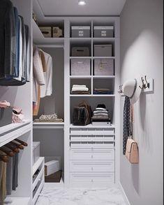 Wardrobe Room, Wardrobe Design Bedroom, Master Bedroom Closet, Home Bedroom, Small Dressing Rooms, Dressing Room Design, Closet Renovation, Closet Remodel, Closet Redo