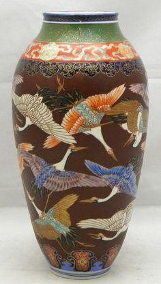 Big Japanese Koransha Vase.