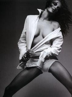 Model Alessandra Ambrosio for Arena Magazine. #Fashion #Photography