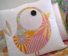 a 'Big Pippie' Applique cushion. $50.00, via Etsy.