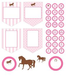 Digital Printable  Cowgirl Hershey Nugget Candy Wrappers Birthday Valentine Horse Lovers
