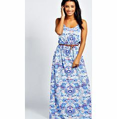 boohoo Hayley Double Strap Printed Maxi Dress - multi Floaty, floor-sweeping and fashion-forward, the maxi dress is the most-wanted way to make waves this season. Column maxis are cool, drop waist's directional and bold prints bad ass, but easy to wear j http://www.comparestoreprices.co.uk/dresses/boohoo-hayley-double-strap-printed-maxi-dress--multi.asp