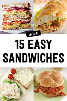 16 Sandwiches That Will Win Lunchtime