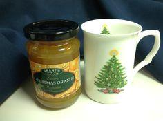 Lovely gift - Christmas Orange Marmalade and a bone China mug.