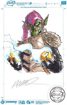 Green Goblin by Humberto Ramos