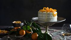 Naked orange poppy seed cake | Cake recipes | SBS Food
