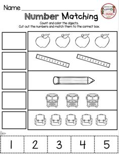 KINDERGARTEN Back to School printables and worksheets for the first week in kindergarten Back To School Worksheets, Kindergarten Math Activities, Kindergarten Math Worksheets, Back To School Activities, Preschool Lessons, Preschool Math, Back To School For Preschoolers, Kids Worksheets, Math Lessons