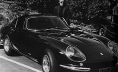 Ferrari 275 GTB 4 by Scaglietti with Steve McQueen, 1967 _Image Courtesy of RM Auctions London Design Museum London