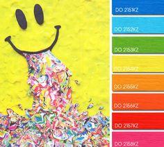 Brights are always popular for kids. Wierd smiley image!