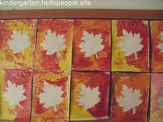 Top 40 Examples for Handmade Paper Events - Everything About Kindergarten Autumn Crafts, Fall Crafts For Kids, Autumn Art, Art For Kids, October Preschool Themes, Fall Preschool, Fall Art Projects, Non Toy Gifts, Leaf Crafts