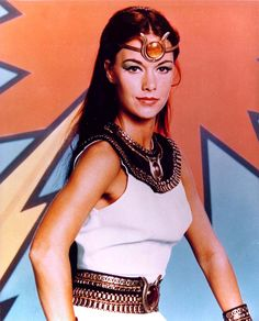 """JoAnna Cameron as """"Isis"""" in the TV show of the same name, 1975-6. LOVED this show. Isis was a badass."""