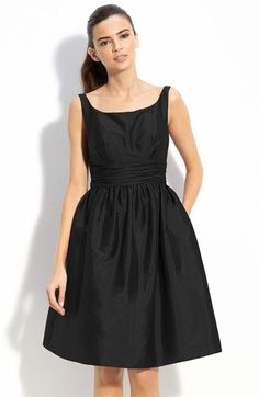 Eliza J Sleeveless Taffeta Dress  for a bridesmaid?  could actually wear it again someday...