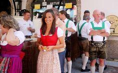Pippa Middleton at the Jahrmarkt festival