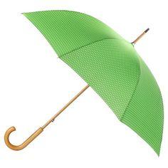 totes® Polka Dot Print Stick Umbrella - Green Polka Dot Print, Polka Dots, Sun Umbrella, Umbrellas Parasols, Unique Gifts, The Incredibles, Green, Totes, Normandy Beach