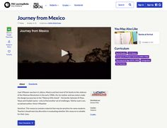 Journey from Mexico Video for - Grade Lesson Planet, Mexican Revolution, Direct Instruction, Hispanic Heritage Month, Play The Video, Study History, Instructional Strategies, Social Studies, Mexico