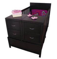 Cama cuna guipar romina color caf coppel cuarto del bebe pinterest colors - Prenatal muebles bebe ...