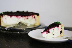 mypancakestory.: Tvarohový dort s ostružinami