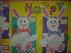 Easter Bunny Art Project by Schoolgirl Style