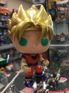 Funko Pop Super Saiyan Goku #14 Lootcrate