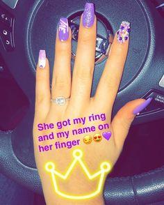 boyfriend initial  nails in 2018  pinterest  nails
