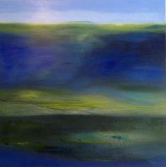 """Patrizia Biaducci, oil on canvas, """"Substrato"""" year 2015"""