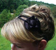 DIY Bra Strap Headband
