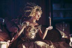 Model: Monika Gocman / Corset: Fairytas / Dress: Miss Aniela / Headpiece: Posh Fairytale Couture / Rings: Velvet Eccentric & National Theatre / Makeup: Grace Gray / Stylist: Minna Attala Production & photography: Miss Aniela / Nikon D810 w/ 70-200mm