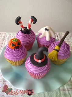 hallowen Cupcakes. Halloween Cup Cakes IdeasHalloween ... : halloween cupcake decorating ideas pinterest - www.pureclipart.com