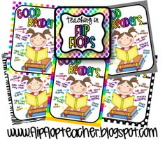 Good Readers from Teaching in Flip Flops on TeachersNotebook.com -  (5 pages)