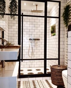 Bathroom Inspiration - we bring you bright ideas for how to design your living room, bedroom, bathroom and every other room in your house. Decor, House Design, House, Home, House Styles, House Interior, Bathrooms Remodel, Beautiful Bathrooms, Bathroom Inspiration