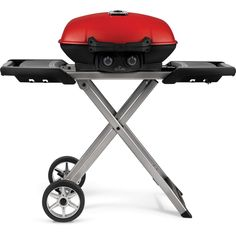 Buy the Napoleon Red Direct. Shop for the Napoleon Red 12000 BTU 45 Inch Wide Liquid Propane Free Standing Grill from the TravelQ™ Series and save. Barbecue Weber, Barbecue Grill, Grilling, Cast Iron Frying Pan, Cast Iron Cooking, Kitchenaid, Propane Cylinder, Portable Barbecue