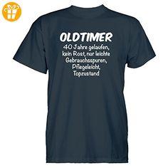 Fun T-Shirt Grössen S-M-L-XL-XXL Baujahr 1954 Oldtimer kein Rost
