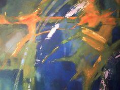 Cuadro en Acrílico- espatulado sobre lienzo 100x160