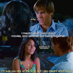 High School Musical 2 One of the saddest moments of all three movies